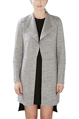 Esprit Damen Mantel Grau Light Grey 5 044 Ae46w Schooner