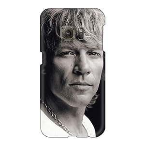 Samsung Galaxy S6 KMB6274qUkT Customized Stylish Bon Jovi Band Skin Shock-Absorbing Hard Phone Cases -NataliaKrause