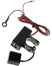 Kokiya 12V-80V Motorcycle USB Powerport Charger Socket Waterproof for Smartphone