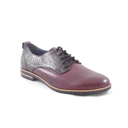 Aeros - Zapatos de cordones para mujer rojo Red