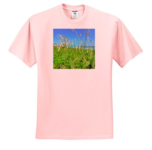 Florida - Image Of Florida Sea Oats On Naples Beach - T-Shirts - Youth Light-Pink-T-Shirt XS(2-4) - 3 Light Naples