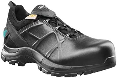 13 Black 620002W-13 Mens Wide Haix Black Eagle Safety 52 Low Waterproof Leather Boots