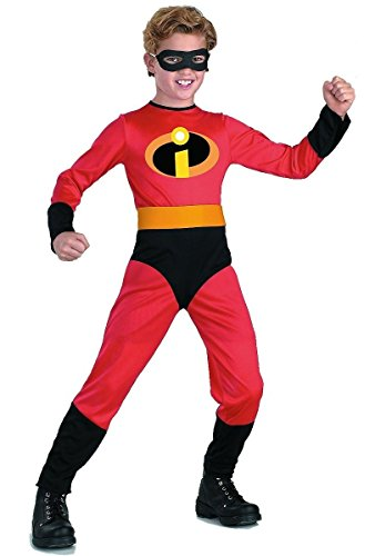 The Incredibles Baby Halloween Costumes (Dash Classic Costume, X-Small (3T-4T))