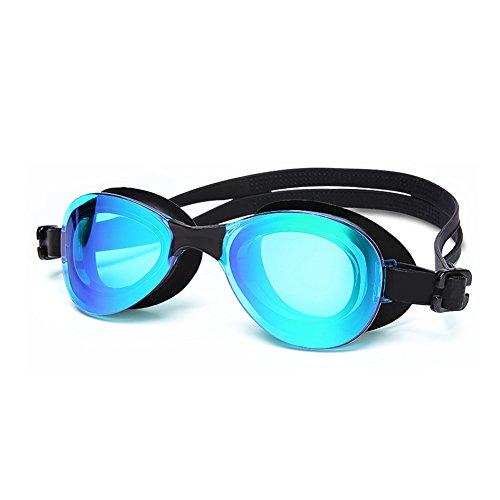 Luz Lake QY Plana Impermeables Gafas Natación Antivaho Natación con Gafas HD Gafas De De blue De Unisex Natación aOq4rwa8W