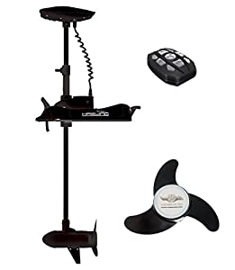 Haswing cayman b 55lbs 12v bow mount electric for Strongest 12v trolling motor