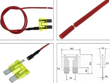 Abgriff Sicherung 20a Auto Kfz Pkw Lkw Stromdieb Kabel Elektronik