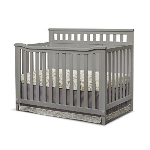 Sorelle Madrid 4-in-1 Convertible Crib, ()