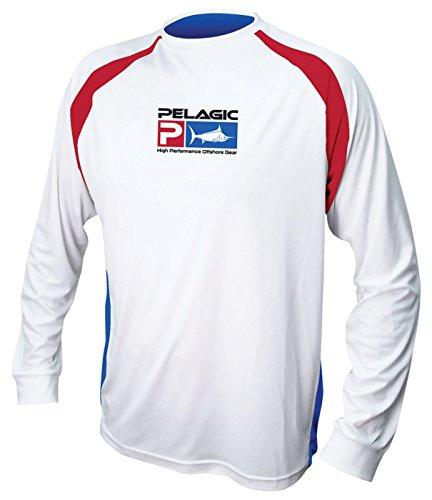 1410a4e5e Pelagic Men's Vaportek Long Sleeve Fishing Shirt | UPF 50+ Sun ...