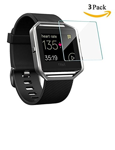 Fitbit Screen Protector Tempered 3 Pack