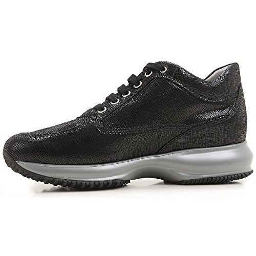 Interactive Donna Hogan Sneakers HXW00N02011FNUB999 Nero wZUwXq5