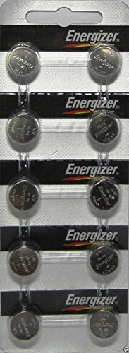 Energizer LR44 1.5V Button Cell Battery 10 pack (Replaces: LR44, CR44, SR44, 357, SR44W, AG13, G13, A76, A-76, PX76, 675, 1166a, LR44H, V13GA, GP76A, L1154, RW82B, EPX76, SR44SW, 303, SR44, S303, S357, SP303, SR44SW)