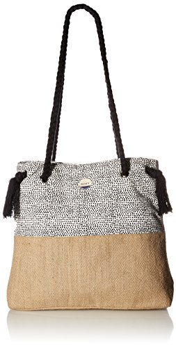Roxy Gimini Shoulder Bag, Marshmallow Watercolor Dots (Handbag Roxy)