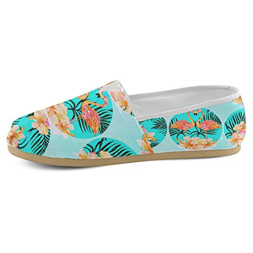 InterestPrint Womens Loafers Classic Casual Canvas Slip On Fashion Shoes Sneakers Flats Multi 6 OzT3Djmhr