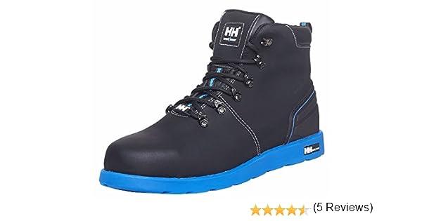 Helly Hansen Workwear S3 Frogner 78252 – Botas de seguridad de piel, muy a la moda, color negro, 45, negro / naranja: Amazon.es: Industria, ...