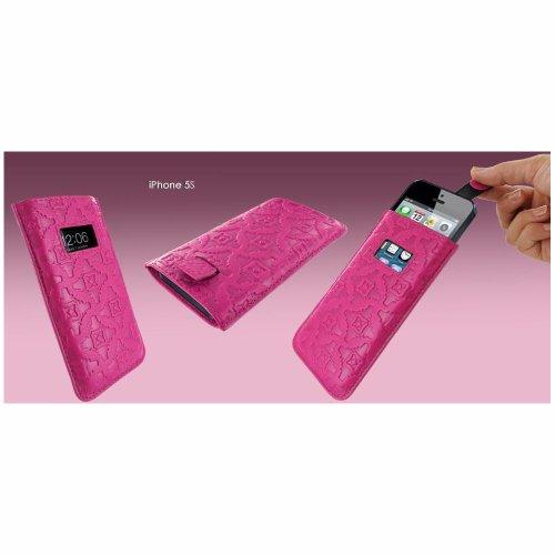 Piel Frama U598P Pull Ledertasche für Apple iPhone 5/5S/5C fuchsie