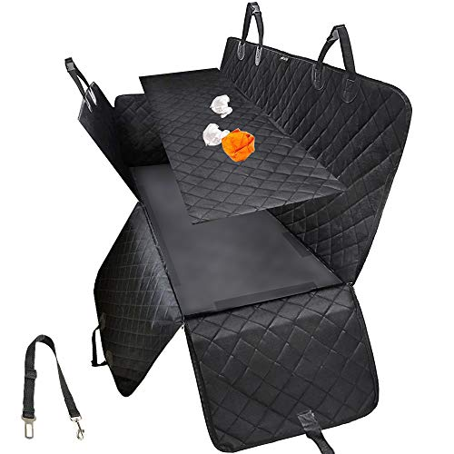 MKPCW Dog car seat Covers for Back seat Can unpick and wash Dog car Hammock for Back seat Pet Seat Cover