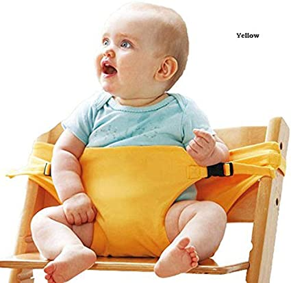Cozyhoma Baby Dining Chair Safety Seats Straps Toddler High Chair Harness Belt Portable Feeding Booster Seat Strap for Traveling Shopping Home Restaurants