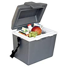 Koolatron P9 9.8-Quart Traveler III Electric Cooler/Warmer, Grey