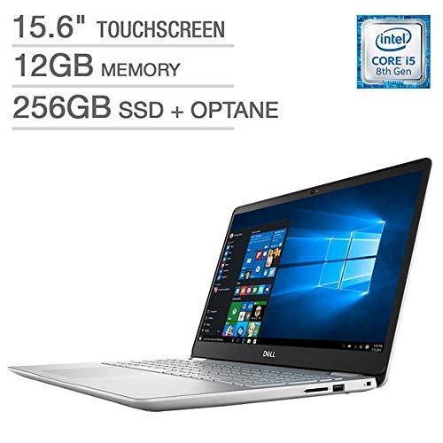2019_Dell Inspiron 15.6″ Touchscreen Performance Laptop, Intel Core i5-8265U Processor, 12GB RAM, 256GB SSD, Webcam, Wireless+Bluetooth, HDMI, Backlit Keyboard, Fingerprint Reader, Windows 10
