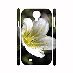Kingsface Chic Adorable Flower series design pattern Hard Plastic Impact Resistant cell phone protective case cover for FSnYOXJ9daT Samsung Galaxy S4 I9500