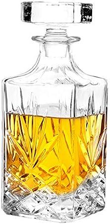 Copa sin plomo para tu salud: esta botella de vino personalizada está hecha de vidrio de alta calida