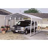 VersaTube One-Vehicle Steel Shelter - 29ft.L x 12ft.W x 7ft.H