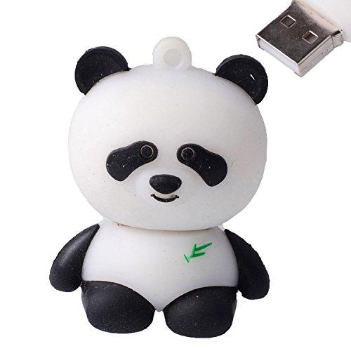 - LHN® 8GB Sitting Panda USB 2.0 Flash Drive (White)