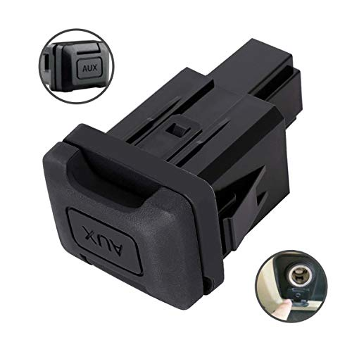 Auxiliary Input Jack Aux Port for Honda Civic 2006 2007 2008 2009 2010 2011 Stereo Adaptor Replaces Part 39112-SNA-A01 - Jack Auxiliary