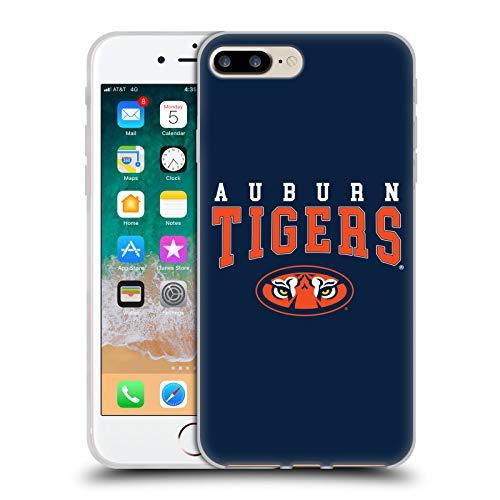 Official Auburn University AU Auburn Tigers Soft Gel Case Compatible for iPhone 7 Plus/iPhone 8 - Tigers Auburn University Au