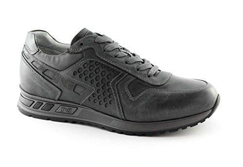 Sportive 4350 Grigio Antracite Sneaker Nero Lacci Uomo Scarpe Giardini 7Cqc0