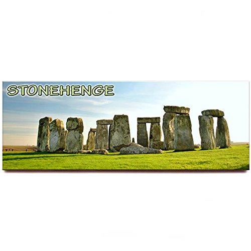 Stonehenge panoramic fridge magnet England United Kingdom travel souvenir