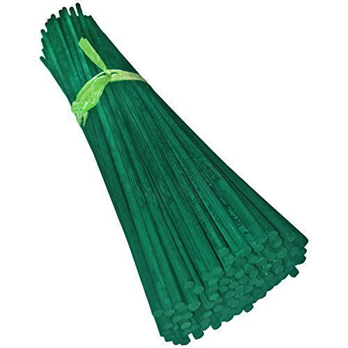 Green Split Canes Support Sticks Plant Garden Lily Bulb Flower 900mm (36