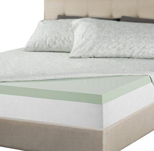 2 Memory Foam Mattress Topper Foam with Pressure Relief Slee