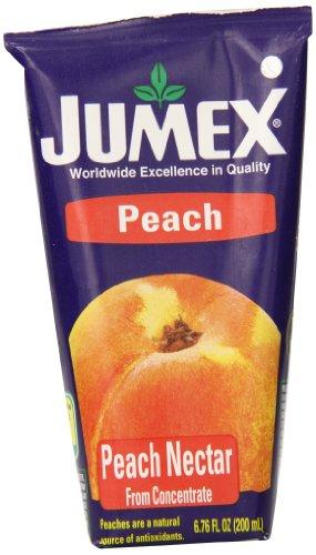Jumex Peach Nectar - Jumex Nectar Tetra Wedge, Peach, 67.6 Ounce