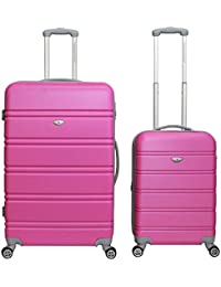 Amazon.com: Pink - Luggage Sets / Luggage: Clothing, Shoes & Jewelry