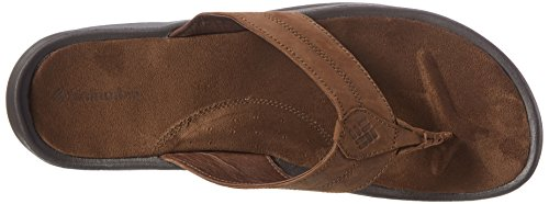 Columbia MANAROLA II - Sandalias de vestir de piel para hombre Marrón (Tobacco 256)