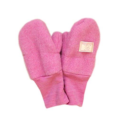 PICKAPOOH Mittens 100/% MERINO wool Baby Children fleece gloves arm warmer winter CORD