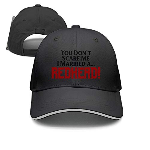 You Don't Scare Me I Married a Redhead Man&Woman Adjustable