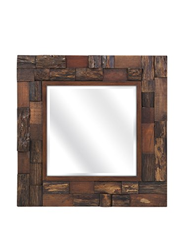 outdoor wall decor metal square - 9