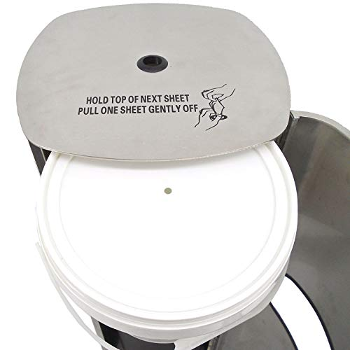 TEXAS RAGTIME Eagle Wipes New Sanitizing Wipes Dispenser and Trash Can Set for Gyms, Offices, Hospitals, Schools, Restrooms Bundle Eagle Wet Wipes Antibacterial Gym Wipes 4 Rolls 3200 Sheets 800/roll by TEXAS RAGTIME (Image #4)