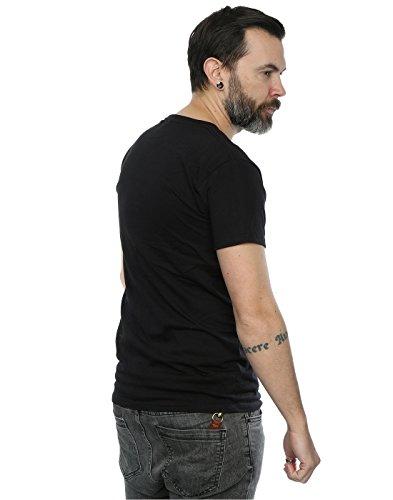 Guns N Roses Herren Whiskey Label T-Shirt XXX-Large Schwarz