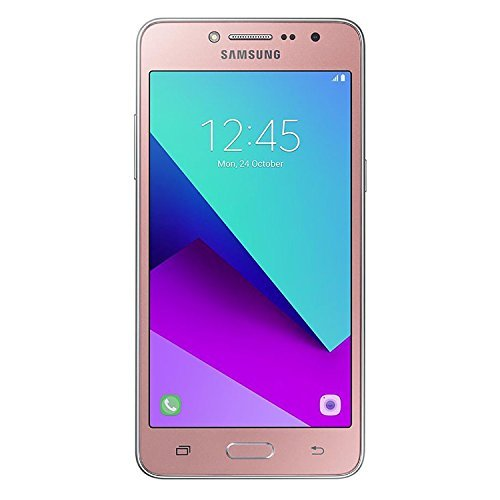 "Samsung Galaxy J2 Prime (16GB) 5.0"" 4G LTE GSM Dual SIM Factory Unlocked International Version, No Warranty G532M/DS Pink gold"