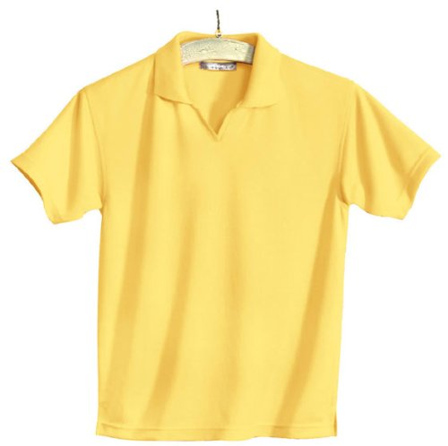 Women's Poly UltraCool Mesh Johnny Collar Golf Shirt (up to size 4X)
