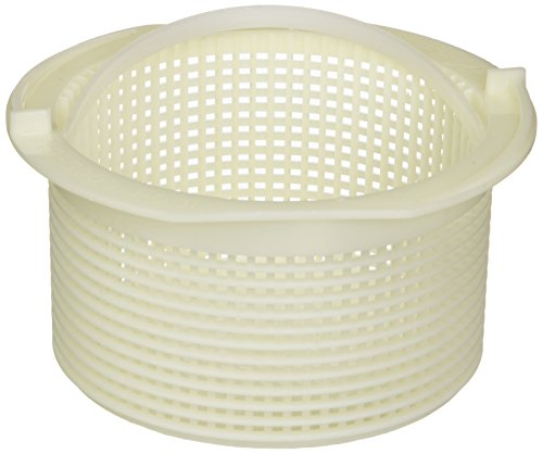 (Waterway Plastics 806105099464 Flat Bottom Basket Assembly)