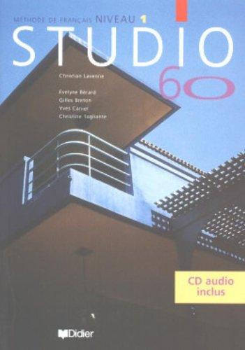 STUDIO 60 NIVEAU 1 LIVRE DE L'ELEVE + CD AUDIO