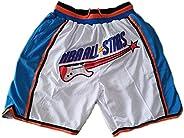 Summer Men's Bulls Hornets Grizzlies Lakers Raptors Star Pocket Embroidered Shorts Retro Basketball Pants