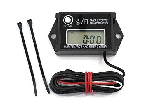 Aftermarket Hour Meter : Digital tachometer hour meter for stroke spark