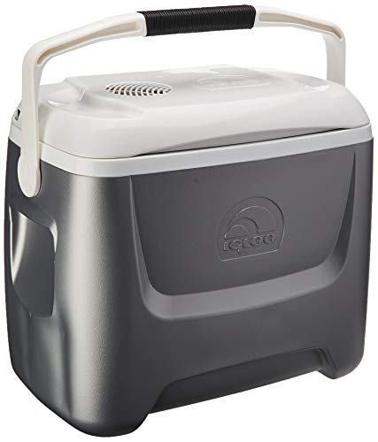 Igloo Iceless Thermoelectric Cooler (Silver/White, 26-Quart) ()