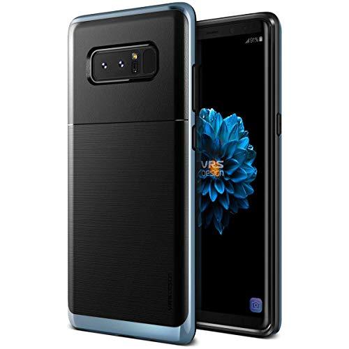 Galaxy Note 8 ケース 耐衝撃 VRS DESIGN High Pro Shield 米軍 MIL 規格 衝撃 吸収 ハイブリッド 薄型 スリム ハード カバー [ Samsung Galaxy Note8 ] ブルー