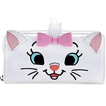 Loungefly X Disney Aristocats Marie Big Face Zip Around Wallet